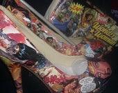 Wonder Woman Heel & clutch combo.