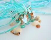 Mermaid  Necklaces,  Mermaid Party Favors, blue, green, silver, Teal, Aqua, Mint