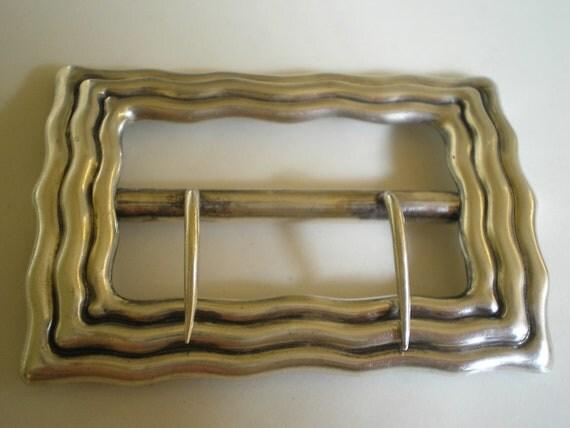 Antique Sterling Silver Tiffany & Co. Sash Belt Buckle  RESERVED