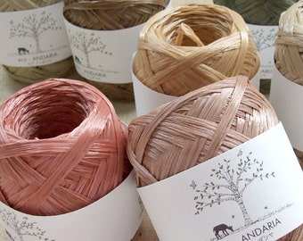 Eco Andaria Yarn Earth Colors - Japanese Hamanaka Yarn