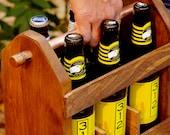 Best Man Gift -Beer Carrier - Beer Carton - Beer Caddy - Boyfriend Gift- Husband Gift- Groomsmen Gift