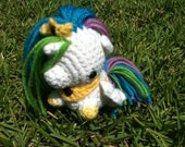 Princess Celestia My Little Pony Crocheted