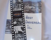 """Vintage """"The Best of Universal"""" Movie Book by Tony Thomas"""