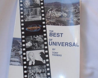 "Vintage ""The Best of Universal"" Movie Book by Tony Thomas"