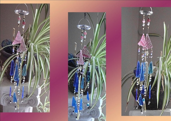 SALE 15% off Angel Prism Feng Shui Glass & Crysta wind chime