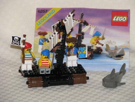 Lego Pirate Raft Instructions