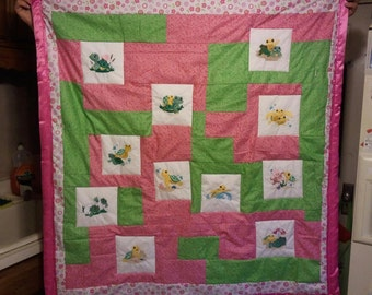 Turtle Baby/Toddler Quilt
