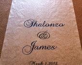 Customized Wedding Aisle Runner