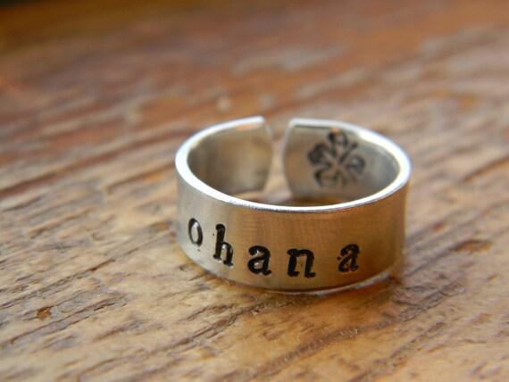 Ohana aluminum  ring