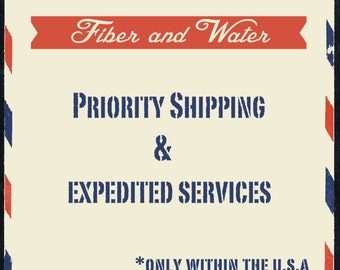 Priority Shipping & Expedited Services