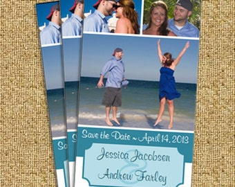 Multi Photo Save the Date Magnet