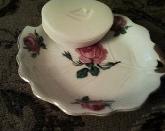 Rose Soap Dish