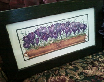 Crocus Painting