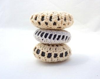 Massage Stones Lace Crochet