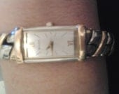 90s Bulova 2 tone Quartz Watch Free Shipping in the US