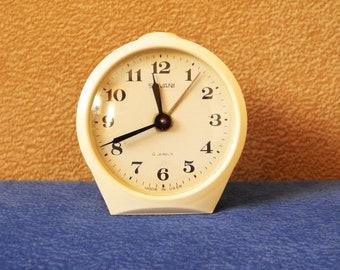 Vintage tabletop alarm clock SEVANI alarm clock from USSR, watch, timer