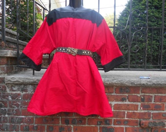 Custom made medieval tunic viking norsman celtic
