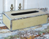 Kleenex Box Wicker Looking