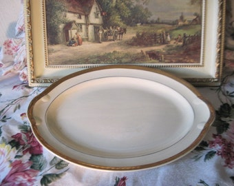 Vint Platter Gold Trim Golden Jubilee 22 Carat Gold/:)S/Taylor Smith/SALE 25% CLEARINGOUT25  Must Be Used at Check Out Can not Change After