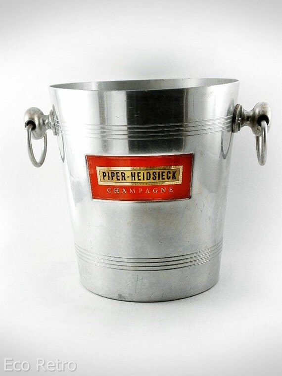 Vintage French Piper-Heidsieck Champagne Ice Bucket