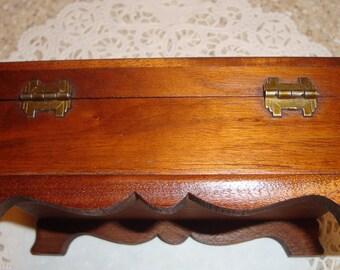 Beautiful Antique Wooden Box
