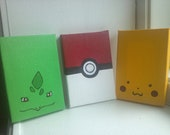 Pikachu, Pokeball and your Choice of Starter Magnets