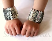 Sequin Sparkle Wristers