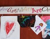 Children's Art Display Brag Board