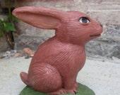 Ceramic rabbit.