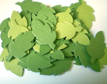 Die Cut Leaves - Small