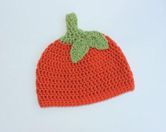 Pumpkin Hat, Baby Pumpkin Hat, Toddler Pumpkin Hat