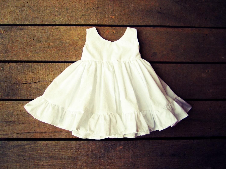 Flower Girl dress Rustic Flower girl Dress Boho Flower Girl