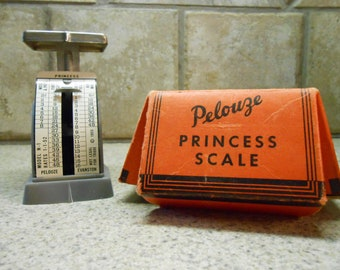 Vintage Pelouze Princess Scale- 1953 -