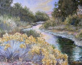 John Day River, Oregon Landscape painting