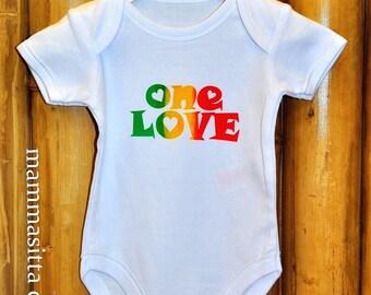 One Love Baby Onesie