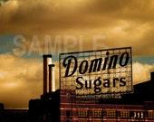 Baltimore Architecture Domino Sugar  - Matted 8x10