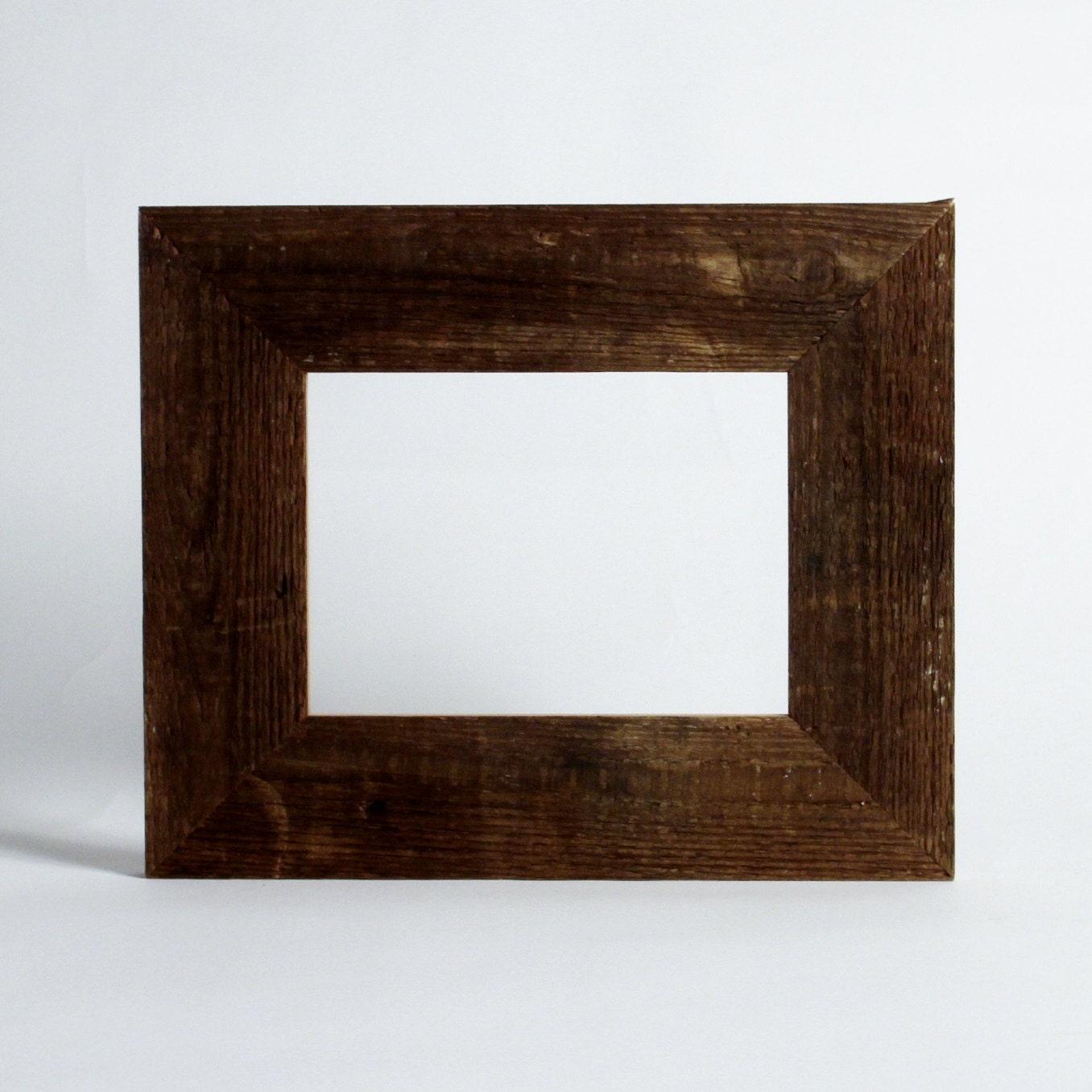 Barnwood frame reclaimed wood rustic decor christmas gift for Barnwood decor