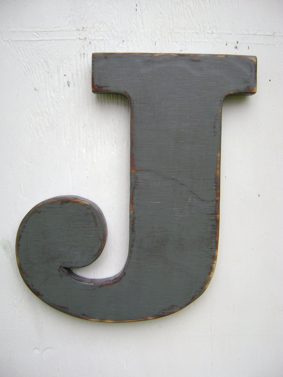 Shabby chic big wooden letters rustic decoration room decor for Decoration 11 letters