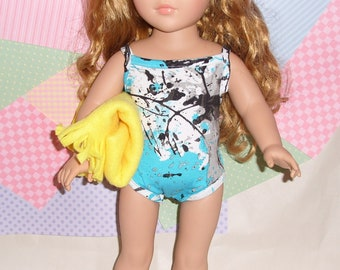 American Girl Doll Swim Suit, Bathing Suit, Fits all 18 inch Dolls