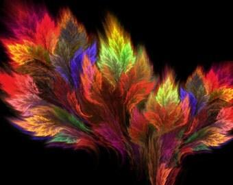 A visit in the paradise - fractal artwork download