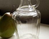 Small Glass Cruet / Pitcher