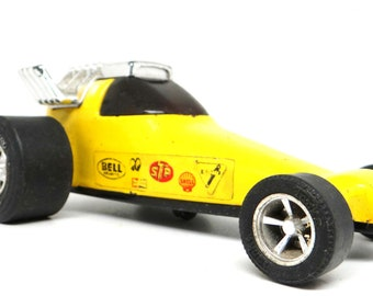 Vintage Tonka Dragster Racer Trophy Trapper, 1971, race car