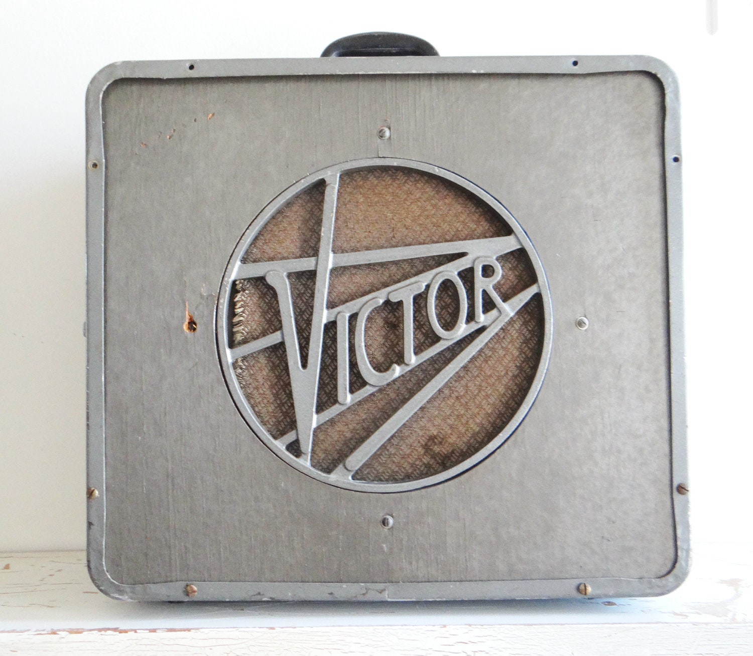 Vintage Victor Speaker Box For 16mm Film Projectors