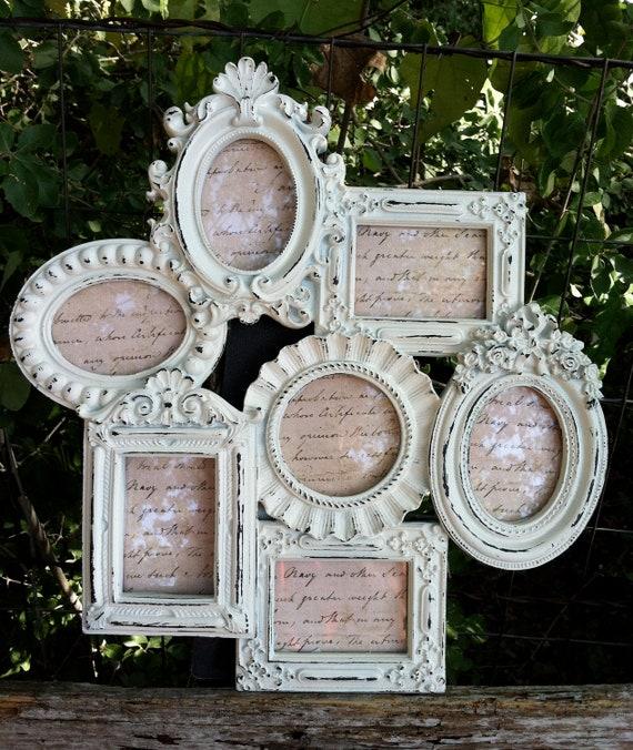 Cottage White French Frame Cluster