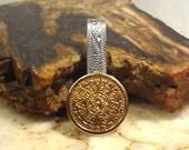 Los Castillos Sterling Silver  Eagle Mark 1 Tie Clip / Money Clip