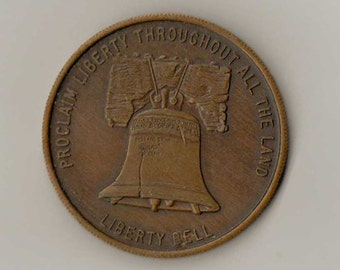 Oral Roberts 1973 Liberty Bell Coin - 1973 Liberty Bell Coin - 4th Of July Liberty Bell Coin From 1973