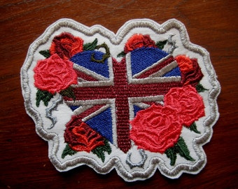 Patch Embroidered Union Jack  4""
