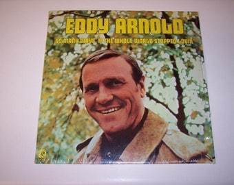 Vintage Eddy Arnold So Many Ways LP vinyl record