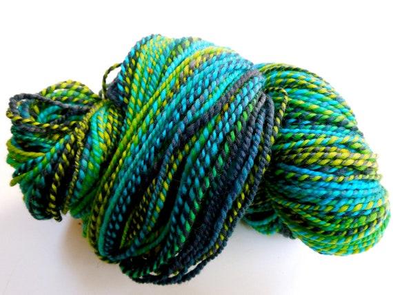Peacock Handspun Yarn