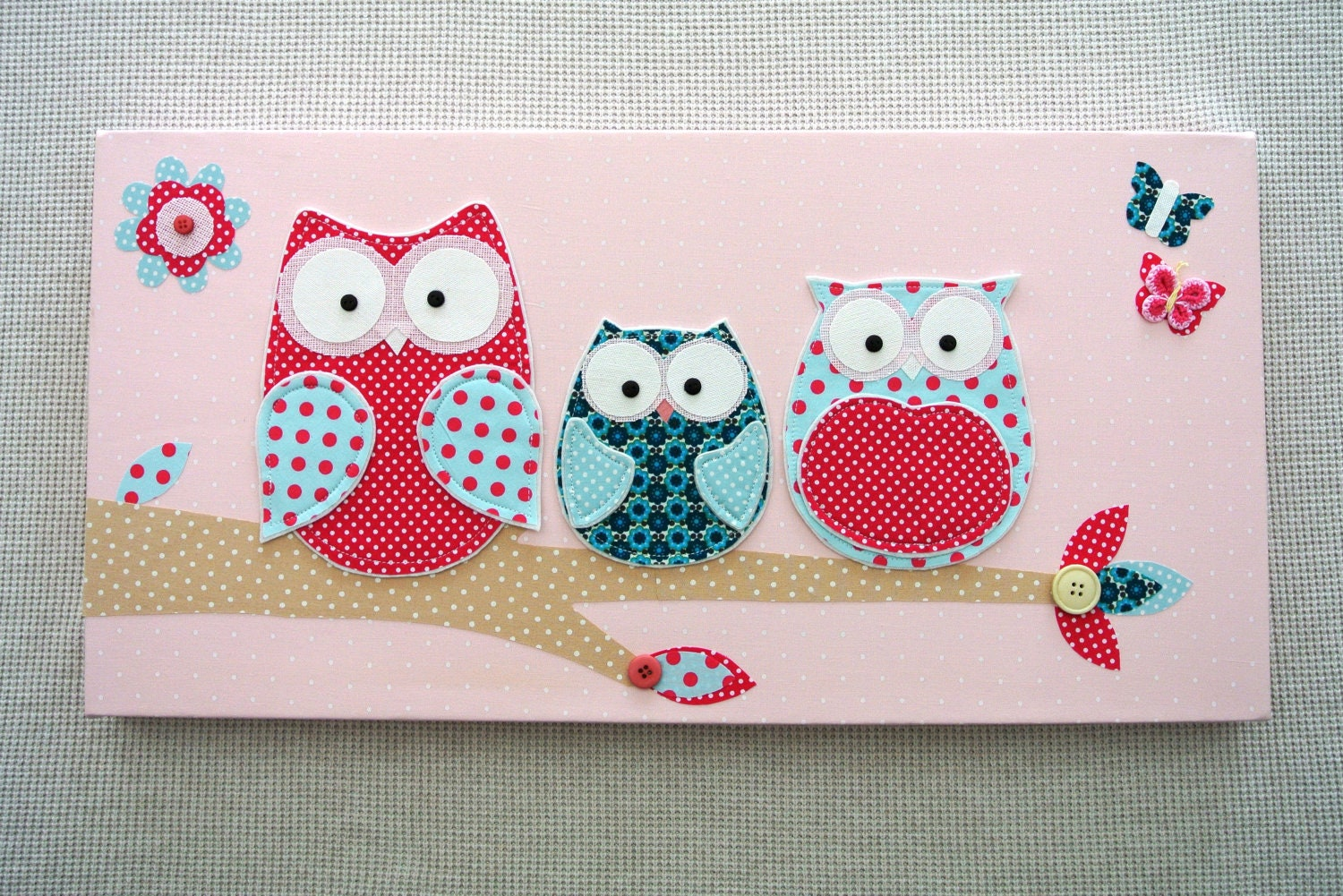 Cute Owl Decor For Baby Room